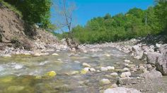 River by YB-VFX 1920x1080 4K Downscaled to 1080P 24 fps Clip Length 0:21Magnificent view of the quiet flowing river. Also sound included