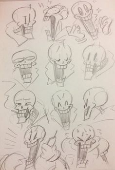 how does one make Papyrus with expressions Papyrus Undertale, Undertale Memes, Undertale Ships, Undertale Drawings, Undertale Fanart, Undertale Comic, Skeleton Drawings, Art Drawings, Art Reference Poses