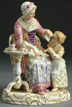 Волшебство Мейсенского фарфора. Жанровые статуэтки - Ярмарка Мастеров - ручная работа, handmade