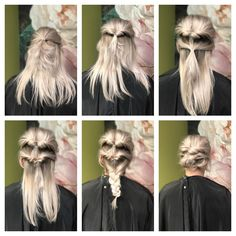 Opsteek inspiratie Up Hairstyles, Halloween Face Makeup, Fictional Characters, Hairdos, Up Dos, Fantasy Characters