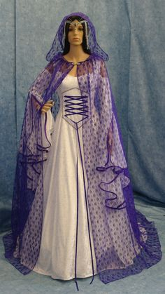 Renaissance dress medieval bridal gown by camelotcostumes on Etsy