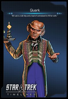 Quark (Armin Shimerman) from Deep Space Nine (DS9) in Star Trek Timelines
