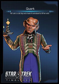 Quark (Armin Shimerman) from Deep Space Nine (DS9) in Star Trek Timelines