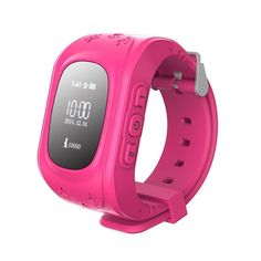 Lanzhd Kids Safety GPS Watch Wristwatch SOS Call Location Finder Locator Tracker for Kid Children Anti Lost Monitor Baby Son Daughter Gift (Pink) >>> Click image to review more details.