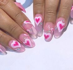 A new manicure will take you in a better mood. If you're paying attention to the new nail art trends that will find the jelly nails especially popular in these. Nail Swag, Aycrlic Nails, Hair And Nails, Stiletto Nails, Nagel Hacks, Kawaii Nails, Jelly Nails, Nagellack Trends, Fire Nails