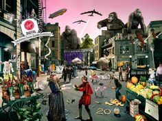 Can you figure out all 70 bands visualized in this picture?