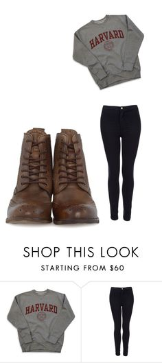 """""""Untitled #604"""" by karinacabrera ❤ liked on Polyvore featuring Topshop and H by Hudson"""