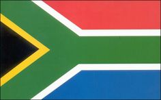 dit is de vlag van Zuid - Afrika
