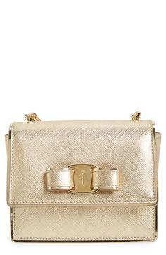 ginny mini crossbody bag / salvatore ferragamo