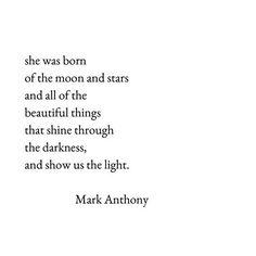 Mark Anthony poem