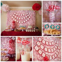 Sweetheart 1st Birthday Party by Beverly's Bakery