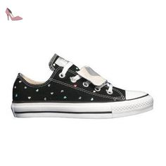 Converse , Baskets mode pour homme Double Tongue - Black - Chaussures converse (*Partner-Link)