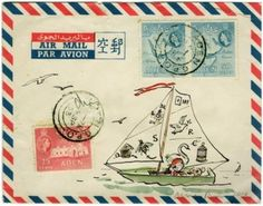air mail art mail