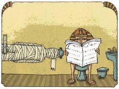 Hoe ze in Egypte naar het toilet gaan! ;)