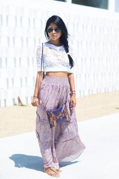T-Bags Los Angeles Purple Printed High Waisted Maxi Boho Skirt  #T-Bags Los Angeles #Purple #Printed #High Waisted #Maxi #Boho #Skirt #Skirts #Boho #Desert #Clothing #Relaxed #Beachwear #Spring #Summer #FAshion's Blogger #Walk In Wanderland
