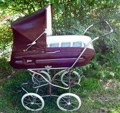 landau anglais aubert collection ann e 77 tbe equipement b b gironde retro. Black Bedroom Furniture Sets. Home Design Ideas
