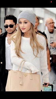 Ariana Grande in a cute dress