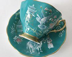 Rare Royal Albert China Tea Cup & Saucer