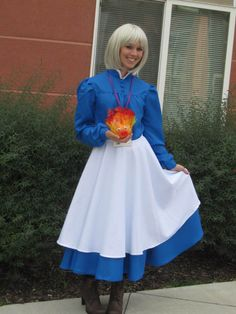 sophie hatter-howl moving castle I need to figure out how to sew this