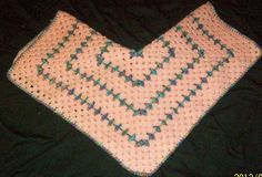 Receiving blanket Pink and monet Hexagon shaped by dnjcrafts, $25.00