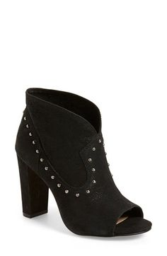 Vince Camuto 'Corianne' Studded Open Toe Bootie (Women) available at #Nordstrom