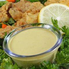 Salsa de mostaza con miel y jalapeños una delicia