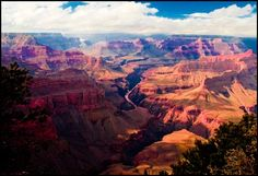 Grand Canyon.... Thanks to my daddy my family and I were able to see all 4 points of it.