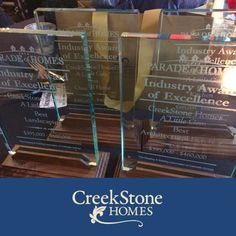 We're thrilled! #ALittleGem won several industry awards at this year's Parade of Homes - including #BestOverallHome and Best #Kitchen! #ColoradoSprings #2014 #newhomes #forsale #Colorado #PikesPeak #womanowned #locallyowned http://creekstone-homes.com