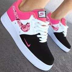 Image may contain: shoes Cute Nike Shoes, Cute Sneakers, All Black Nike Shoes, Vans Shoes, Jordan Shoes Girls, Girls Shoes, Footwear For Girls, Shoes Women, Nike Shoes Air Force