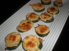 Life Should Be Delicious!: Baked Zucchini with Mozzarella