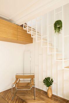Paris apartment by Les Ateliers Tristan & Sagitta