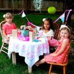 Cute little girl tea party ideas