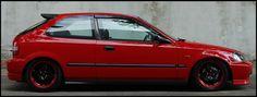 Marcio Vargas' hatchback Honda Civic EJ9 (EK)