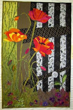 The Intruder (posted to Flickr by BSL Art Quilts)