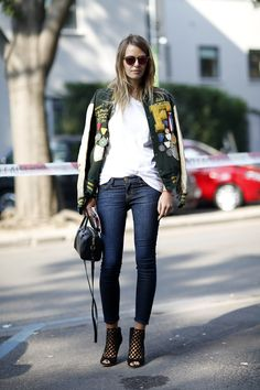 FLARE MFW S'14 Street Style / Photo by Anthea Simms