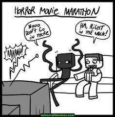 Minecraft Memes for April 2018 - Amalia Minecraft Funny Comics, Minecraft Art, Minecraft Memes, Minecraft Stuff, Crafty Games, Preston Playz, Funny Pins, Funny Stuff, Movie Marathon