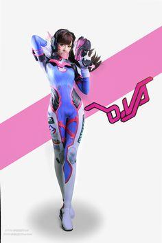 Rye Pioneer D.Va cosplay   Semi-dimensional - den første kinesiske samfund COS Graphic Novels