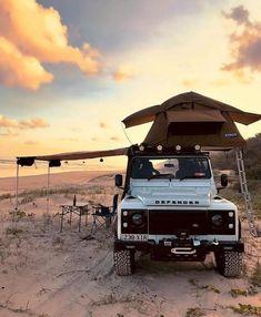 60 Ideas Truck Camper Land Rover Defender For 2019 Landrover Defender, Land Rover Defender 110, Defender Camper, Land Rover Overland, Landrover Camper, Offroad Camper, Land Rovers, Kombi Home, Offroader