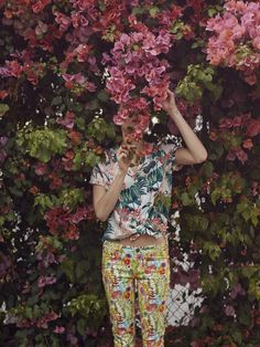 Bernstein & Andriulli - Photographers - We Are The Rhoads - Fashion Photoshoot Concept, Printed Trousers, Liberty Print, Liberty Of London, Photoshoot Inspiration, New Work, Fashion Photography, Floral Prints, Women Wear