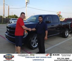 "https://flic.kr/p/vogtsE | #HappyAnniversary to James  Willis on your 2013 #Ram #1500 from Hamed Awadi at Huffines Chrysler Jeep Dodge Ram Lewisville! | <a href=""http://www.huffinesdodge.com/?utm_source=Flickr&utm_medium=DMaxxPhoto&utm_campaign=DeliveryMaxx"" rel=""nofollow"">www.huffinesdodge.com/?utm_source=Flickr&utm_medium=D...</a>"