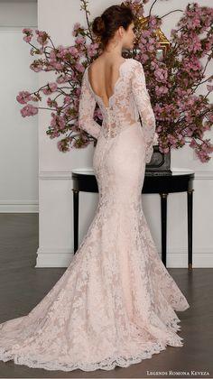 ჭ blushkleurige jurk