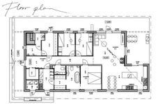 puutalo, musta puutalo, arkkitehdin piirtämä talo, scandinavian architecture, black wooden house, Diagram, Floor Plans, Layout, How To Plan, Deco, Architecture, Building, Interior, House