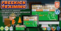 Buy Freekick Training - Sport Game by codethislab on CodeCanyon. Freekick Training is a Sport Game. Are you ready to join the best soccer team? Train your freekick shooting s. Social Share Buttons, Web Design Tutorials, Hosting Company, Sports Games, Wordpress Plugins, Coding, Physics, Website, Soccer