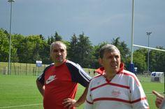 Laurent Cueille et Yves-André Vimont
