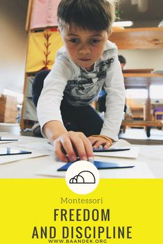 Freedom and Discipline are powerful words. They can elicit emotional reactions. They have personal and historical significance to individuals and nations. #montessori #