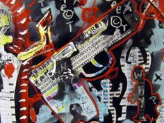 Words Not Weapons Painting by Robert Wolverton Jr, Words Not Weapons Painting, Words Not Weapons Painting for Sale, Words Not ...