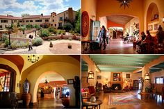 La Posada Hotel in Winslow, Arizona, I can actually cross this one off my list ;) It was a pretty cool place.