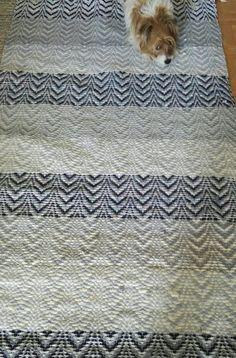 Räsymatto Rag Rugs, Weaving Projects, Weaving Patterns, Weaving Techniques, Scandinavian Style, Pattern Design, Ideas, Knitting Projects, Loom Patterns