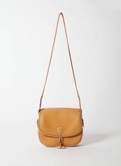 Hermès Vintage Tan Shoulder Bag   www.resee.fr