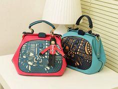 LivingSocial Shop: Prince Vintage Hollow Stitching Handbag
